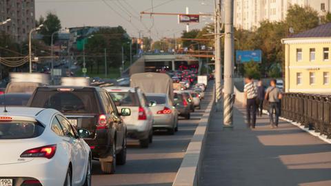 Urban city traffic timelapse 4K Stock Video Footage