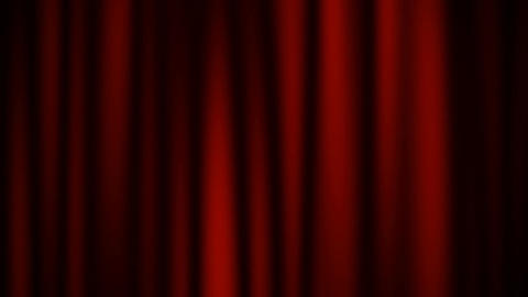 red curtain Animation