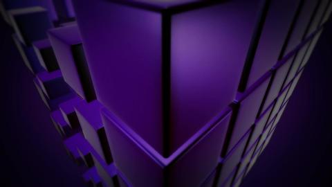 purple dice dance Stock Video Footage