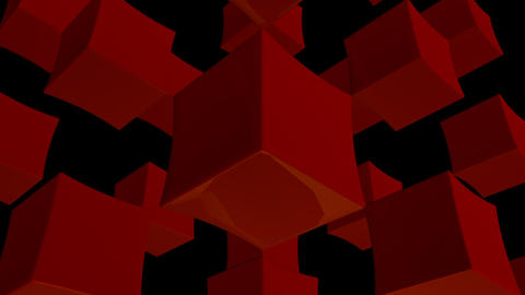 red array with alpha Stock Video Footage