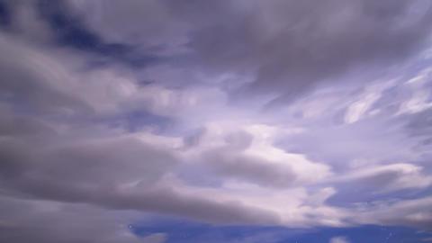 Night sky. Time Lapse Stock Video Footage