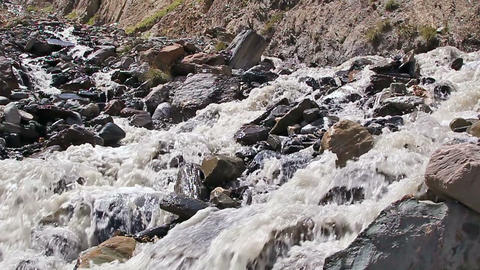 White mountain river Footage