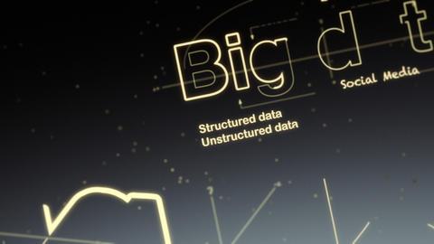 Big Data Stock Video Footage