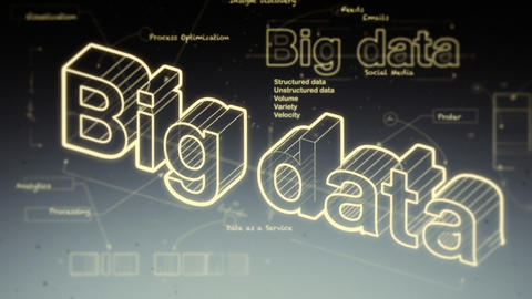 Big Data Stock Video Footage