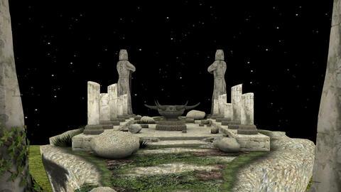 石碑 Animation