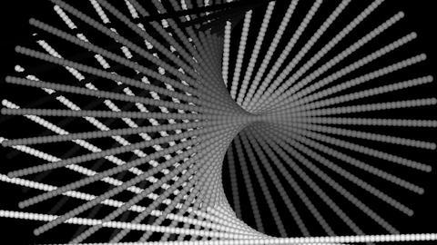 black & white twist Stock Video Footage