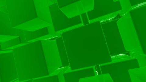 green box Stock Video Footage