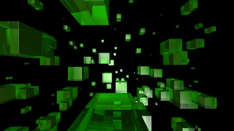 green glass Stock Video Footage