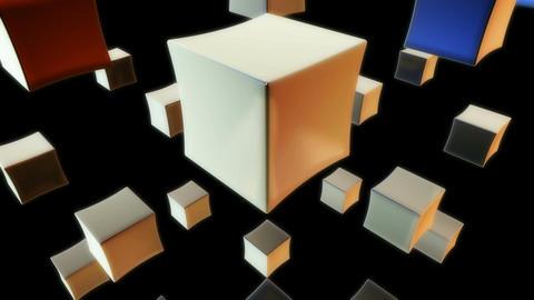 white cube Animation