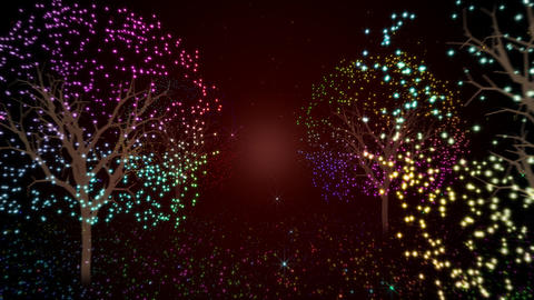 Illuminations tree Animation