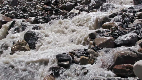 White Mountain River stock footage