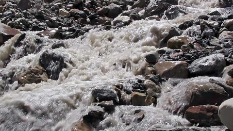 White mountain river Stock Video Footage
