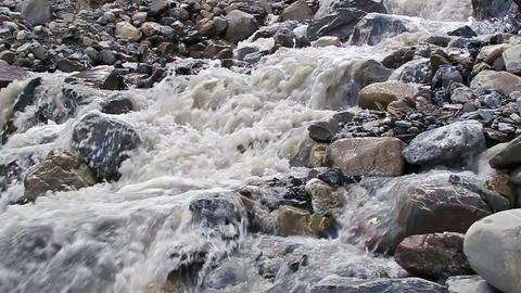 White mountain river Footage