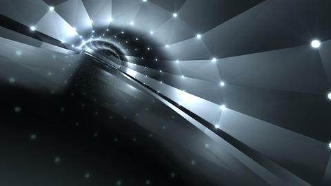 Tunnel tube road a 4a 1 HD Animation