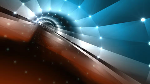 Tunnel tube road a 4a 2 HD Animation