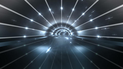 Tunnel tube road a 4b 3 HD Stock Video Footage