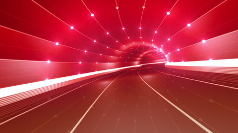 Tunnel tube road c 4a 2 HD Stock Video Footage
