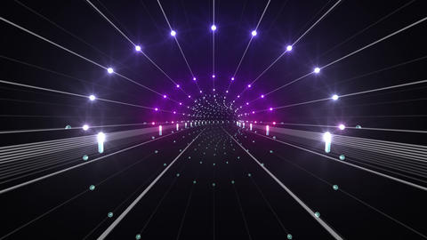 Tunnel tube space road a 4b 2 HD Stock Video Footage