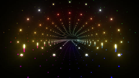 Tunnel tube space road b 4a 2 HD Stock Video Footage