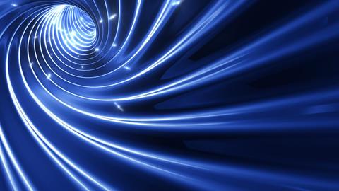 Tunnel tube twist a 1b 3 HD Stock Video Footage