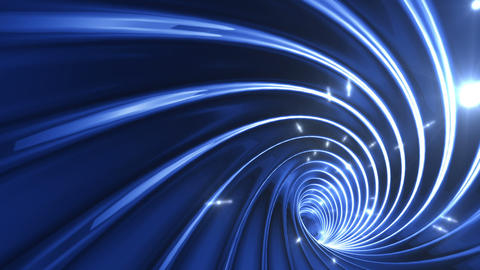 Tunnel tube twist a 1b 3 HD Animation
