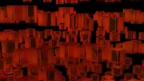 orange array Stock Video Footage