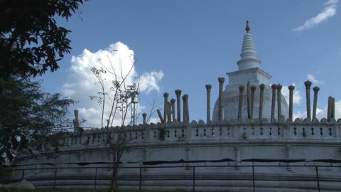 Dagoba in Anuradhapura Footage