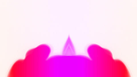 Erupting pink smoke Stock Video Footage