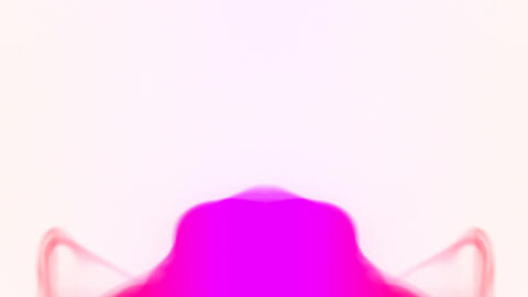 Erupting pink smoke Stock Video Footage