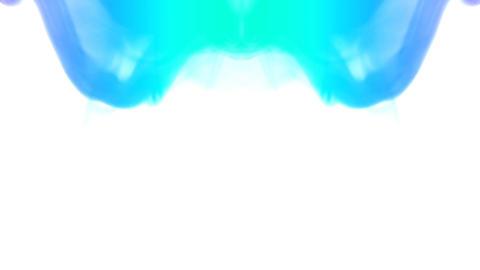Turquoise smoke Animation