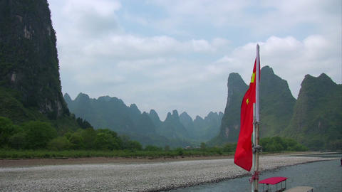 GuiLinFlag Stock Video Footage