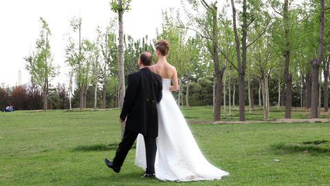 Wedding Couple Stock Video Footage
