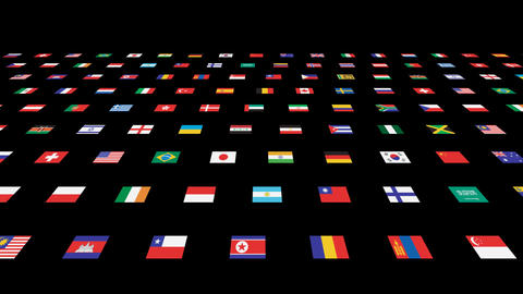 National flag 2 W As Animation