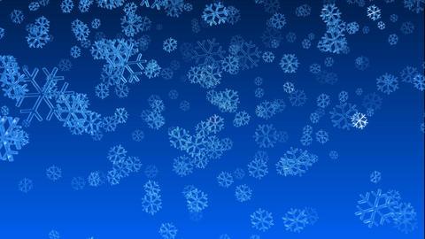 christmas snow 01, Stock Animation