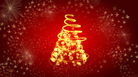 christmas tree 02 Stock Video Footage