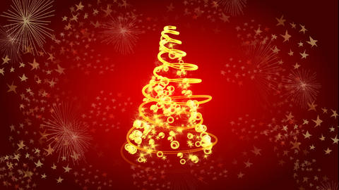 christmas tree 02 Animation