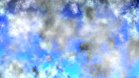 swirling clouds Stock Video Footage