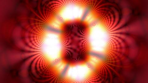 Orange Kaleidoscope Stock Video Footage