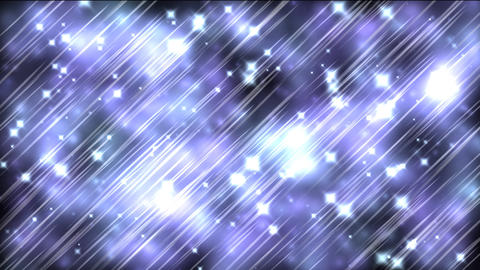 Blue Sparkles Stock Video Footage