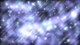 Blue Sparkles stock footage