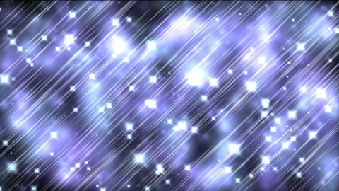 Blue Sparkles Animation