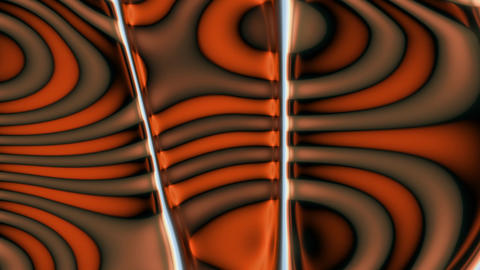 Orange Brown Swirls Animation