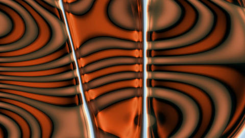 Orange Brown Swirls Stock Video Footage