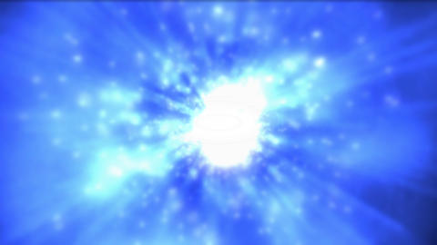 Flying Through Space stock footage