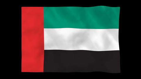 National flag A38 ARA HD Animation