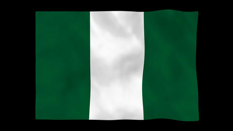 National flag A50 NGR HD Animation