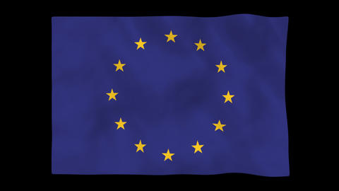 National Flag A72 EUR HD Animation