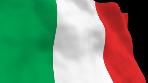 National Flag B07 ITA HD Animation
