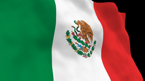 National Flag B15 MEX HD Animation