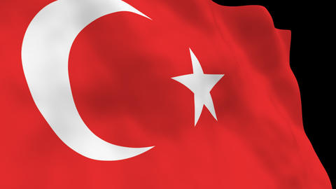 National Flag B17 TUR HD Animation